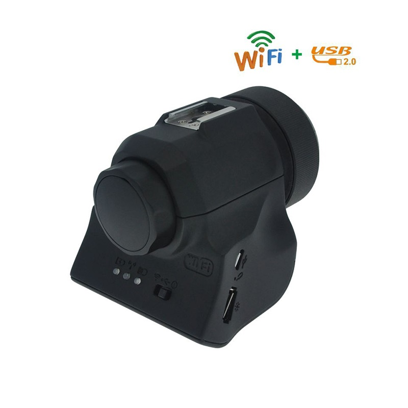 5.0MP CMOS Observe Still Image Record Live Video Camera WIFI USB Eyepiece for Microscope Telescope hy008 microscope telescope