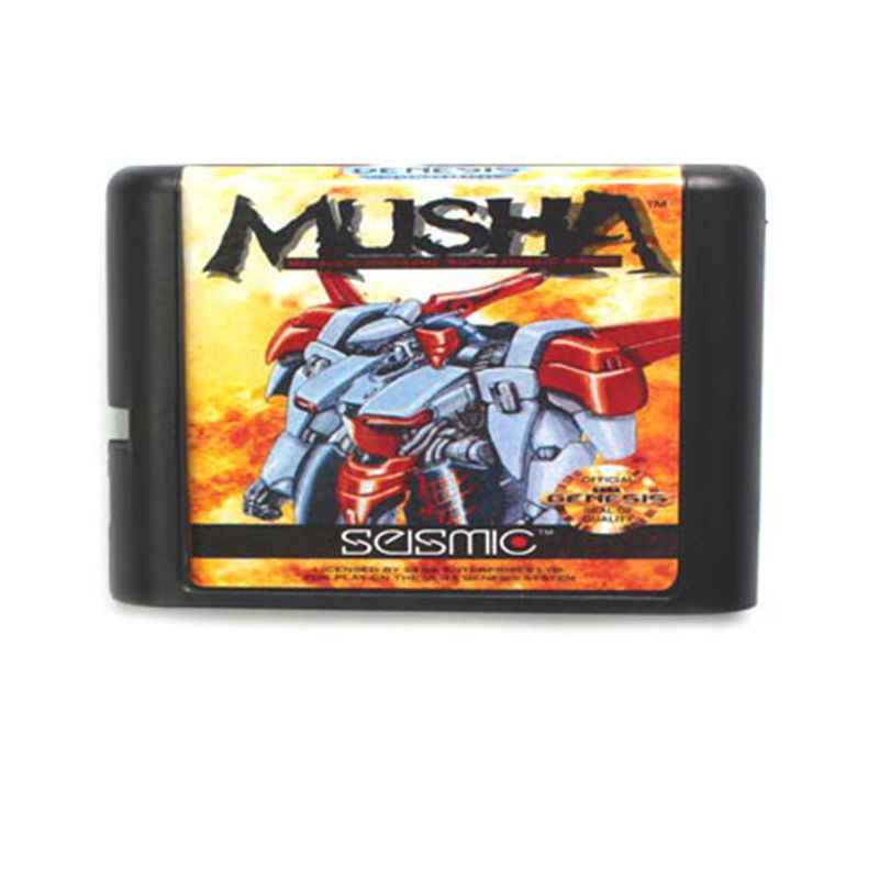 MUSHA 16 bit MD Game Card For Sega Mega Drive For SEGA Genesis