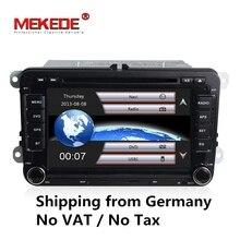 2 Din Car dvd GPS navi for VW Volkswagen Bora Jetta Golf 5 6 Passat CC Polo Caddy Amarok Sharan support BT DVR player camera map
