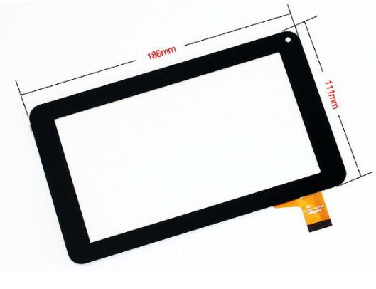 New For 7 denver TAQ-70242 TAQ - 70242 Tablet touch screen panel Digitizer Glass Sensor replacement Free Shipping new 9 touch screen digitizer replacement for denver tad 90032 mk2 tablet pc