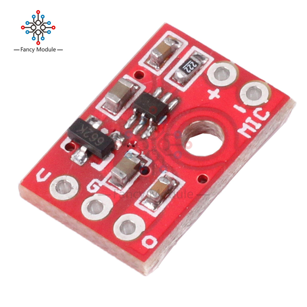 цена на Electret Microphone Amplifier Amp Microplate Board Module MAX9812L for Arduino