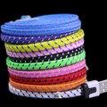 Alta Qualidade IOS9 Colorido 6FT 2 M Tecido de Nylon Trançado de Macarrão Plana tecido cabo de carga usb para iphone 6 5 5s 5c 100 pcs DHL