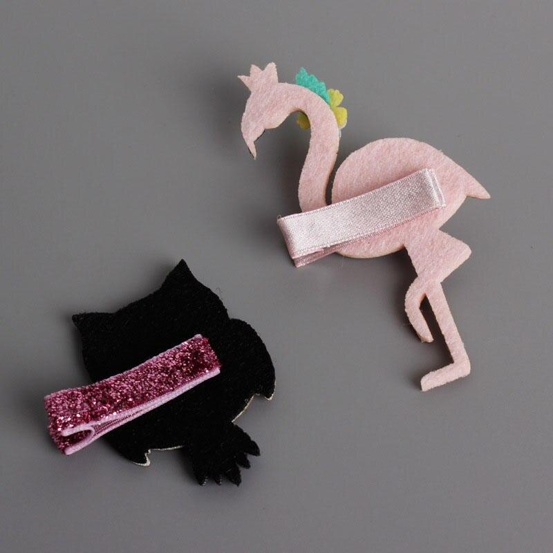 Купить с кэшбэком Hot Sale 1pc Baby Girl PrincessCute Owl Hair clip Small Euramerican Cartoon Children Hairpins