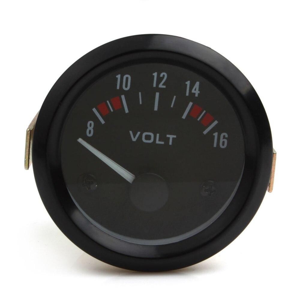 Outils de voiture Universel Voltmètre Jauge Mètre 8-16 V Voiture De Course 2 pouces volt Gauge Volts Mètre 52mm jauge Instrument