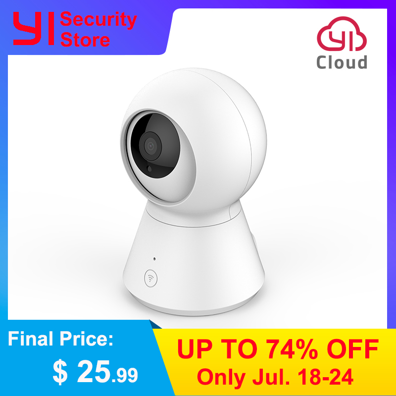 NEW 1080P Smart Dome Camera Powered by YI Camera Wifi Pan/Tilt/Zoom Wireless IP Security Surveillance Camera Cloud YI IOT APP