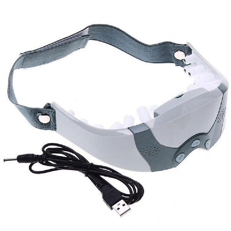 100pcs/lot New Eye Care Health Electric Alleviate Fatigue Massager Mask Forehead  DHL Freeshipping health eye care electrical magnetic alleviate fatigue relax massager forehead y207e hot sale