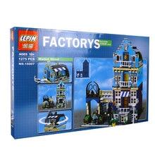 Лепин завод город улица европейский рынок модель строительным блоком набора кирпичи комплекты diy совместимый с 10190 детьми модель подарки