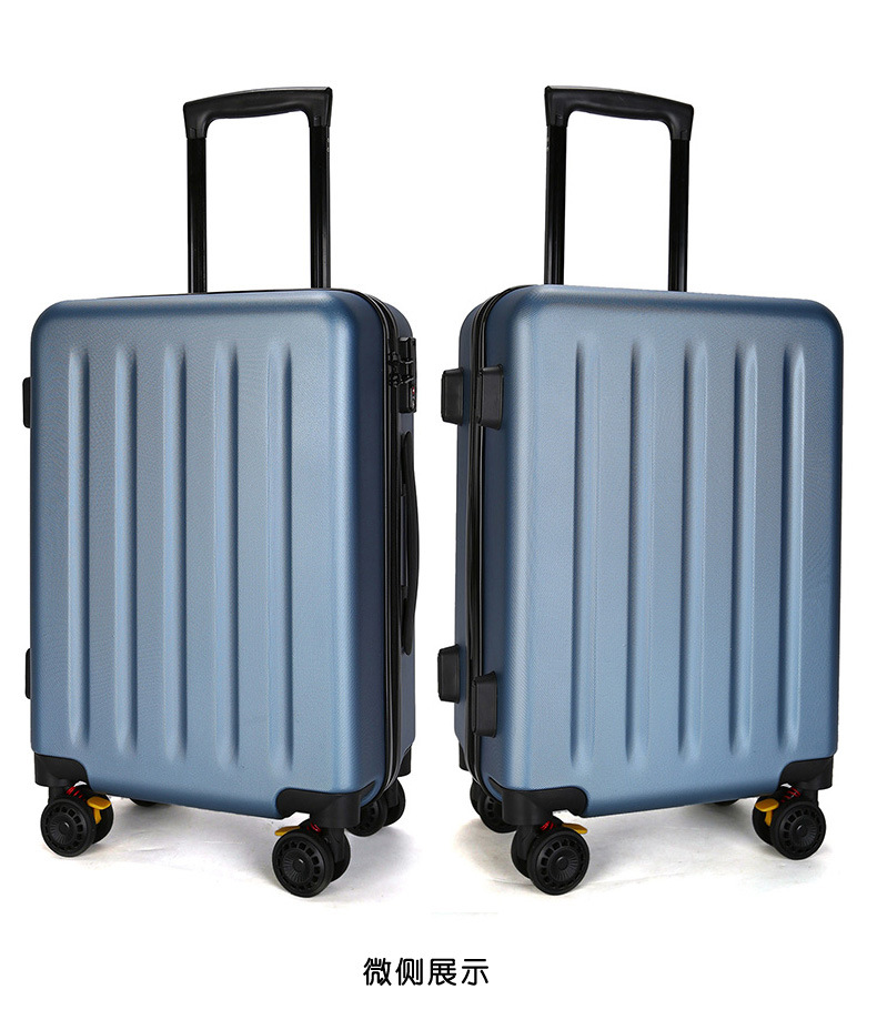 ZYJ Travel Trolley Luggage Men Women Alloy Business Solid Rolling Scratchproof Airplane Suitcase Luggage Spinner Wheels Trunk (14)