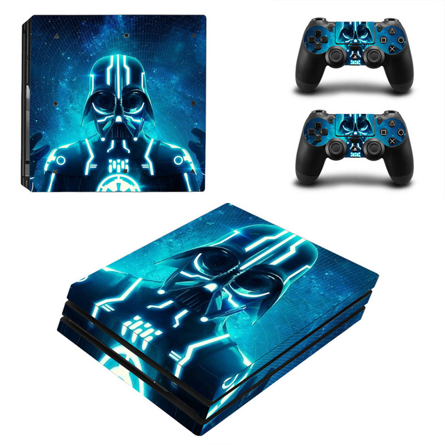 Star Wars Decal Skin Cover For Playstaion 4 Console PS4 Skin Stickers+2Pcs Controller Protective Skins For PS4 Pro Accessories 2