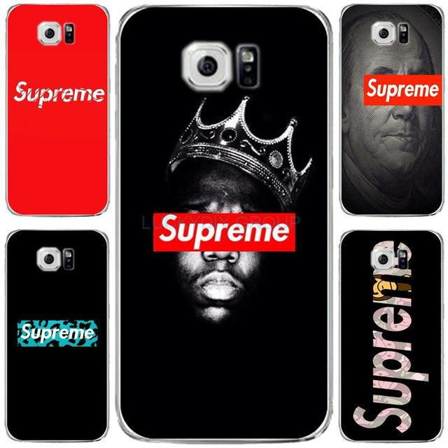 super popular 5d1ca 4bcb5 US $2.99 |For Fashion Popular Brand Logo Suprem case For Samsung S6 edge  galaxy S7 edge Case soft slim silicone Tpu Phone Cover on Aliexpress.com |  ...