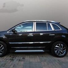 Lsrtw2017 304 нержавеющая сталь окна автомобиля планки для renault koleos 200 2008 2009 2010 2011 2012 2013 samsung QM5