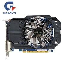 GIGABYTE GTX 750 2GB D5 Video Card GTX750TI 2GD5 128Bit GDDR5 Graphics Cards for nVIDIA Geforce GTX750 Hdmi Dvi Used VGA Cards