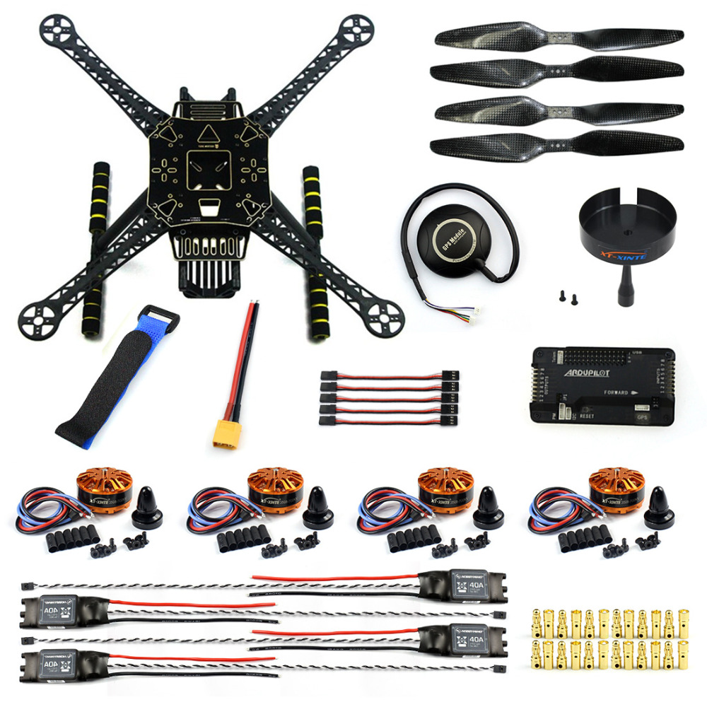 Diy fpv drone kit s axis aerial quadcopter apm