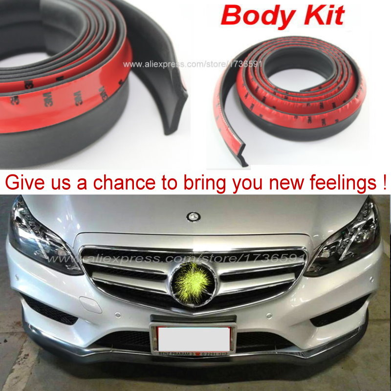 Auto Car Front Lip Deflector Lips Skirt For Mercedes Benz SL MB R129 R230 R231 / Body Chassis Side Protection / Spoiler Lip
