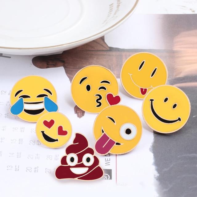 Smiley Brooch Pins