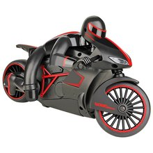 EBOYU(TM) 333-MT01B High-Speed 2.4GHz RC Motorcycle Full Scale Electric Remote Control Off Road Motorcycle Car w/ LED Headlights
