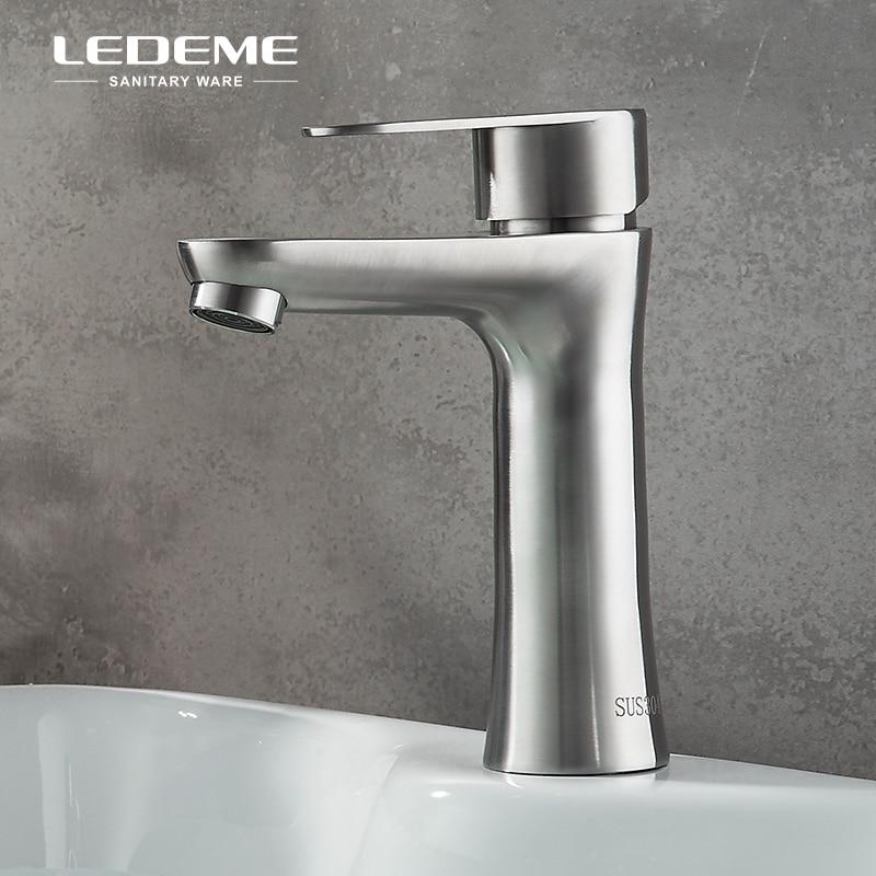 Aliexpress Com Buy Ledeme Bathroom Faucet Modern Single