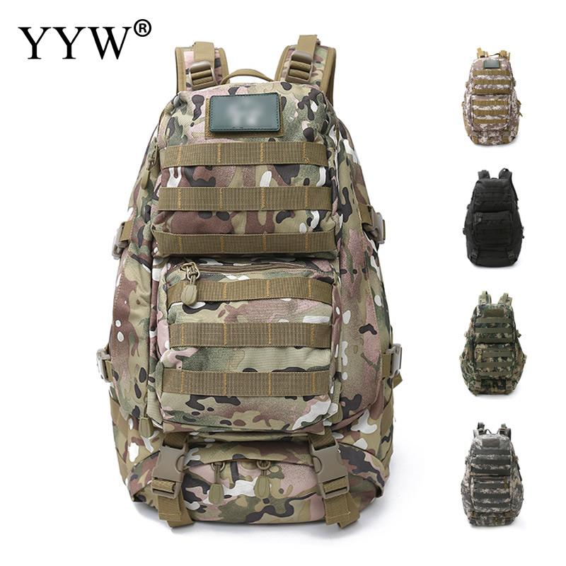 Camouflage Men Travel Bags Mountaineering Duffle Bag Multifunction Backpack for Male High Capacity Men's Backpacks 35l waterproof tactical backpack military multifunction high capacity hike camouflage travel backpack mochila molle system