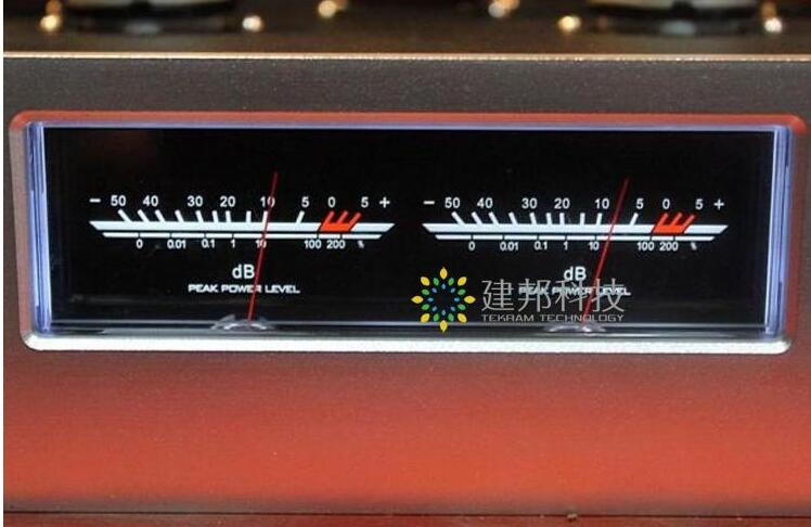 HiFi Amplificatore di Potenza Audio VU Meter di Livello DB Header Indicatore di Picco FAI DA TE con Retroilluminazione A LED