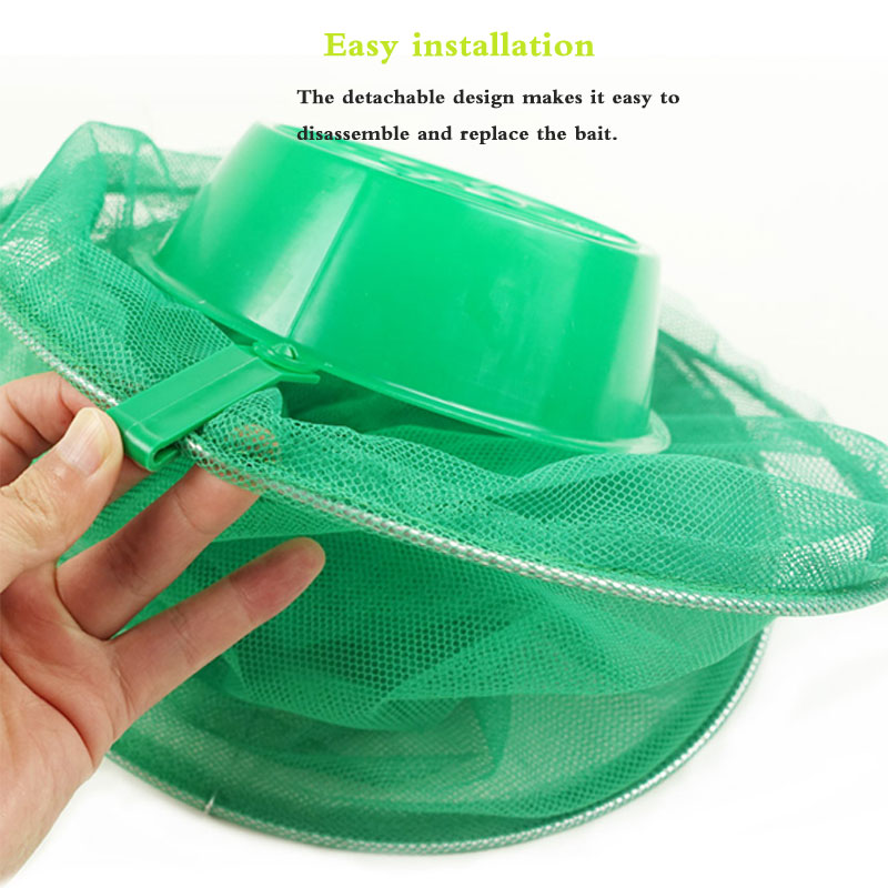 Image 4 - 2PCS Hot Summer Hanging Flycatcher Outdoor Collapsible High Efficiency Eliminate Flies Cage Environmentally Friendly Non toxic.-in Traps from Home & Garden