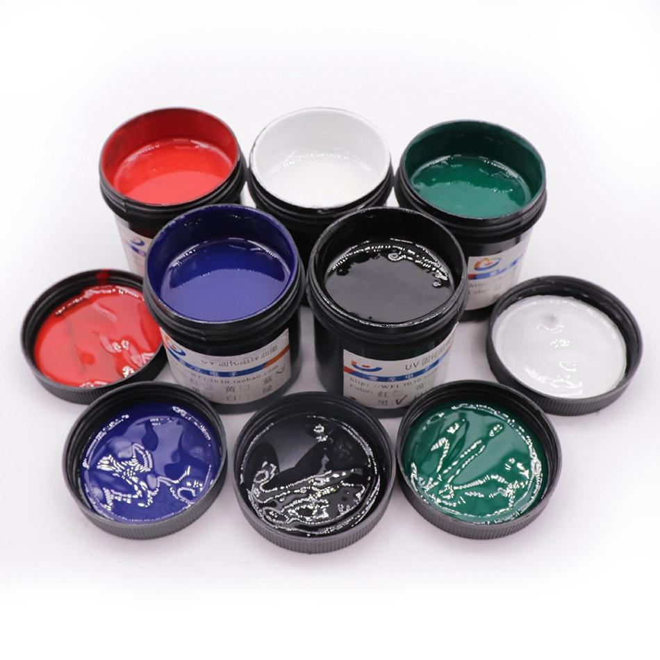 UV Mask Ink Circuit Board  PCB Light Solid Oil UV Oil Genuine 100 G UV Light Curing Soldering Ink  Solder Mask Uv(China)