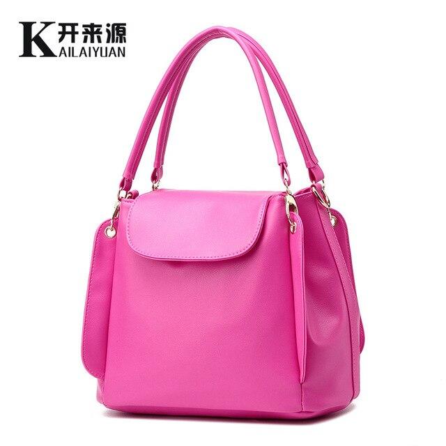 100% Genuine leather Women handbags 2017new handbag bag ladies classic  casual three soft Crossbody Bag female hand bill lading cdd49935316e