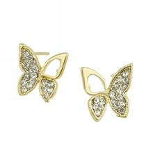 2019 Direct Selling Brinco Fashion In Europe And America Is Hollow-out The Butterfly With Stud Earrings Manufacturers