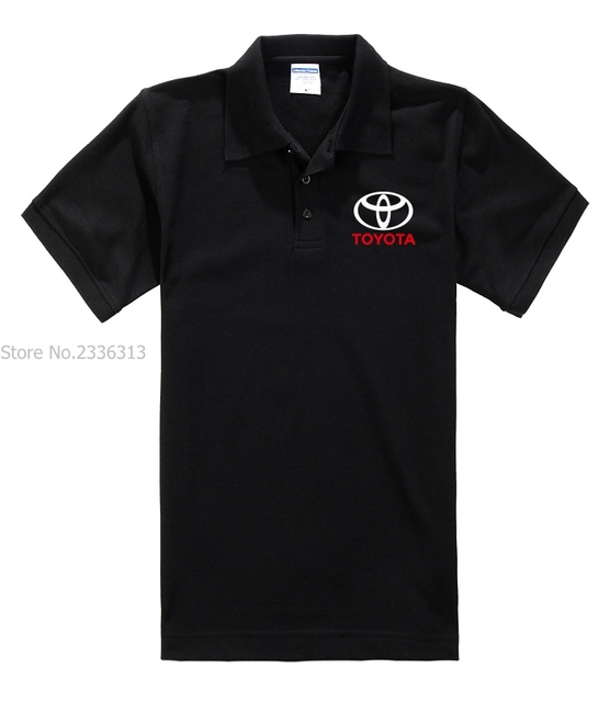Summer Short Sleeved Toyota Polo Shirt Cotton Lapel 4s Shop Tooling