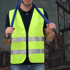 Free Shipping Reflective Vest No Pocket Reflective Vest Riding Reflective Safety Suit For Safe Protective Device Traffic Facilities — wickedsick