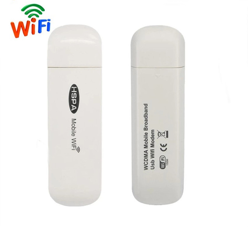 3G USB Modem Mobile Wifi Hotspot Broadband Car Wireless Router Global Unlock Dongle Wi-fi Mini Mifi with SIM Card Slot
