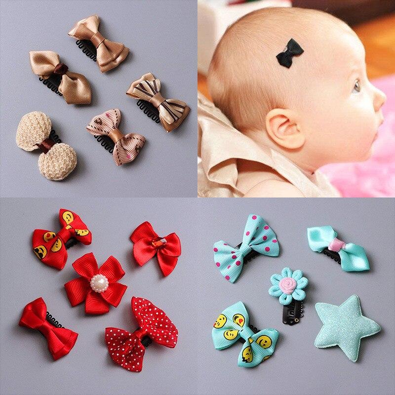 "Lot de 2 Double Toddler 1.5/"" Bow Clips Cheveux Blanc /& Lapin Rose"
