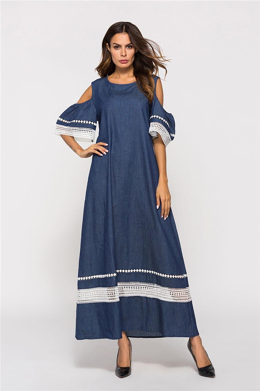 שמלות מקסי מידות גדולות לאביב MEDIUM להזמנה לוקו0ט