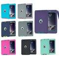 Для Apple iPad Air Амор Противоударный Heavy Duty Резина Hard Case Чехол для iPad Air для ipad 5 Tablet Аксессуары M2A14D