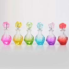 30 ML New Style Portable Diamond Glass Refillable Perfume Bottle With Aluminum Sprayer Empty Cosmetic Parfum Case With Atomizer