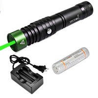 ARCHON J1 100m Diving Laser Pointer Green Laser Pointers Torch Powerful Led Tactical Laser Flashlight + 18650 Battery + charger