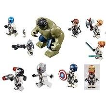 11262 BALE Marvel Avengers 4 Endgame Compound Battle Model Figure Blocks Compatible Legoe Building Bricks Toys For Children