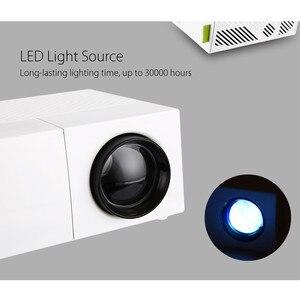 Image 2 - Excelvan YG310 cập nhật YG300 LED Máy Chiếu 800LM 3.5 mét 320x240 HDMI USB Mini Chiếu Home Media Player hỗ trợ 1080 p
