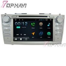 "Topnavi 8 ""1024*600 4 ядра 16 г Android 6.0 DVD мультимедиа плеер для Toyota Camry 2006- 2011 GPS навигации Радио"