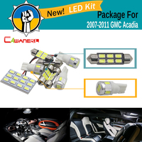 9 Pieces Car 5630 SMD Interior Trunk License Plate Map Dome Light LED Kit Package LED