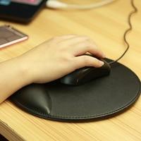 NOYOKERE Newest 3D Leather Computer Mouse Pad with Wrist Rest Ergonomic Office Soft Sponge Wrist Support Mat mousepad for PC|mouse pad with wrist|computer mouse pad|mouse pad -