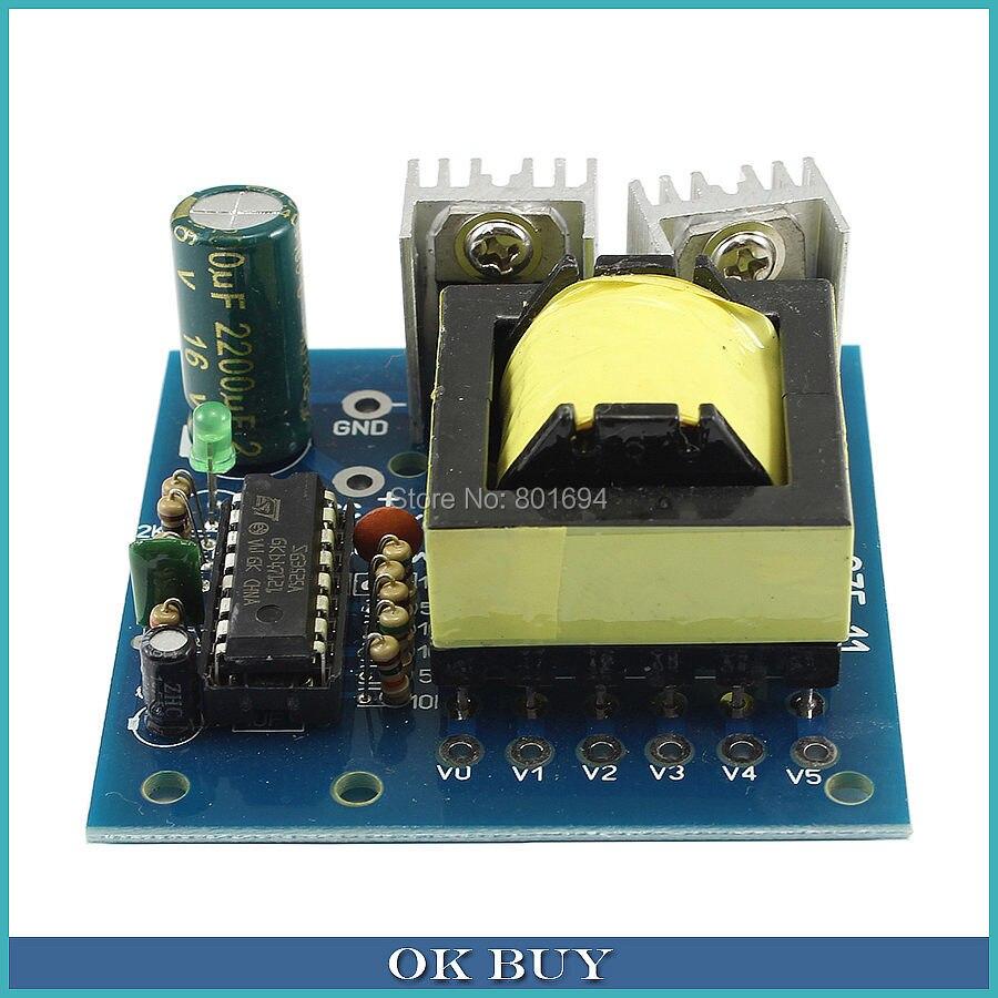 150W DC to AC Mini-Type Inverter DC 12V To AC 110V/172V/200V/220V Boost Power Converter Module maitech 03100637 20w dc 12v to ac 220v step up transformer inverter power boost module green