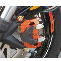 Motocycle Accessories Front Brake Clamp Protector Cover For KTM 200 DUKE 2012 2016/ 390 DUKE 2013 2017/ RC 200/390 2014 2017