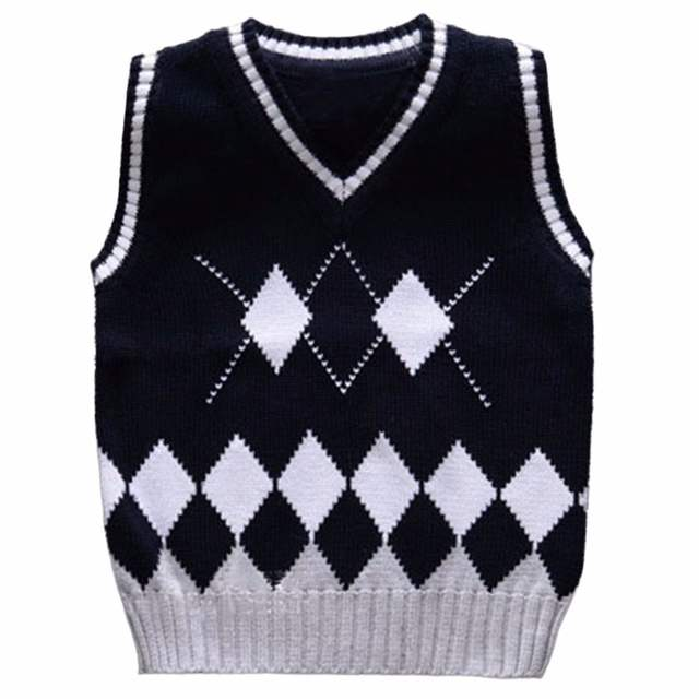 e95d93eb7 Online Shop 2-6 Years Baby Boys Knitted Vest Children Cardigan ...