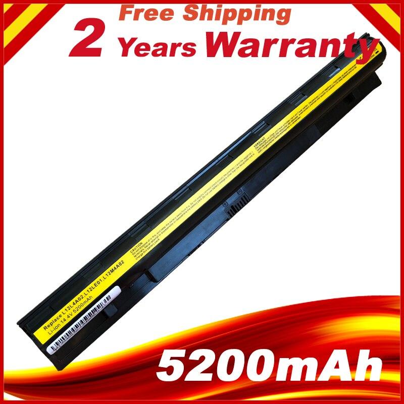 Hsw novo 8 células l12l4e01 bateria do portátil para lenovo g400s g405s g410s g500s g505s g510s s410p s510p z710 l12s4a02 l12m4e01