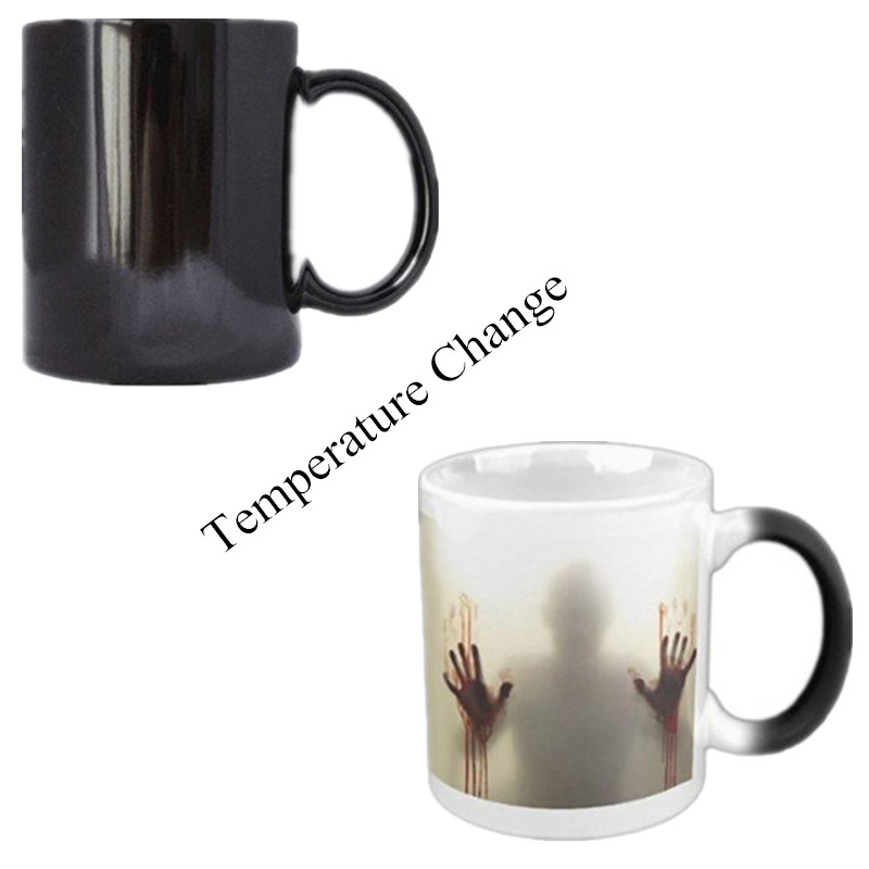 EH-LIFE Creative Walking Dead Color Coffee Tea Cup Gifts