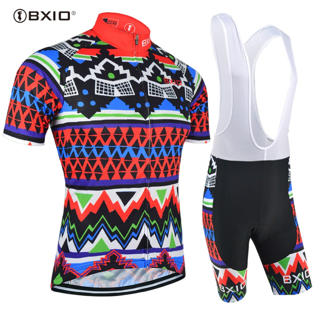 c5547f7f9 BXIO Pro Team Cycling Sets DIY Design Bike Wear Custom Brand Cycle Clothing  Ropa Ciclismo MTB Bicycle Clothes Bike Jersey BX 027-in Cycling Sets from  Sports ...