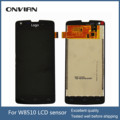 Original LCD display +Touch screen assembly for Philips W8510 CTW8510 Cellphone Xenium mobile phone with assuring