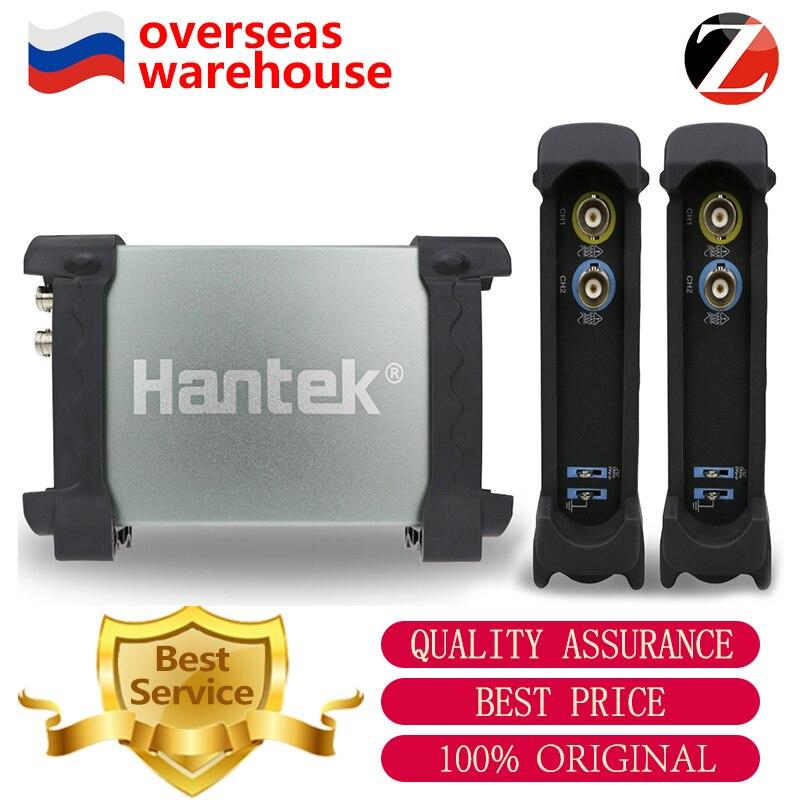 Hantek Digital Oscilloscope 6022BE 6022BL Portable Handheld PC USB Oscilloscopes 2Channels 20MHz