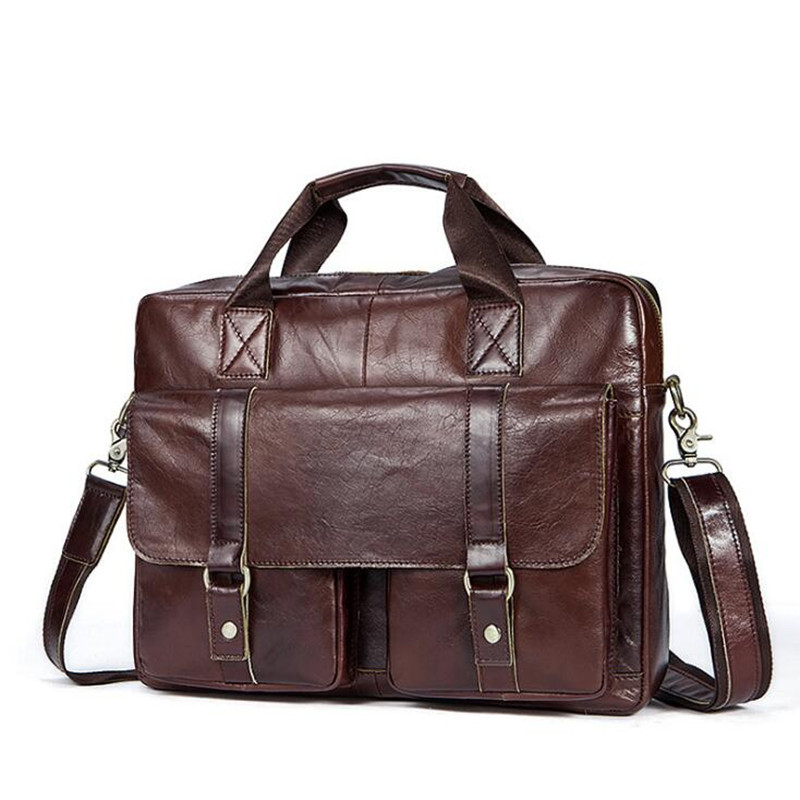 Men Bag Genuine Leather Bag Men Crossbody Bags Messenger Men's Travel Shoulder Bags Tote Laptop Briefcases Handbags jmd men handbags genuine leather bag men crossbody bags messenger men s travel shoulder bag tote laptop business briefcases bag
