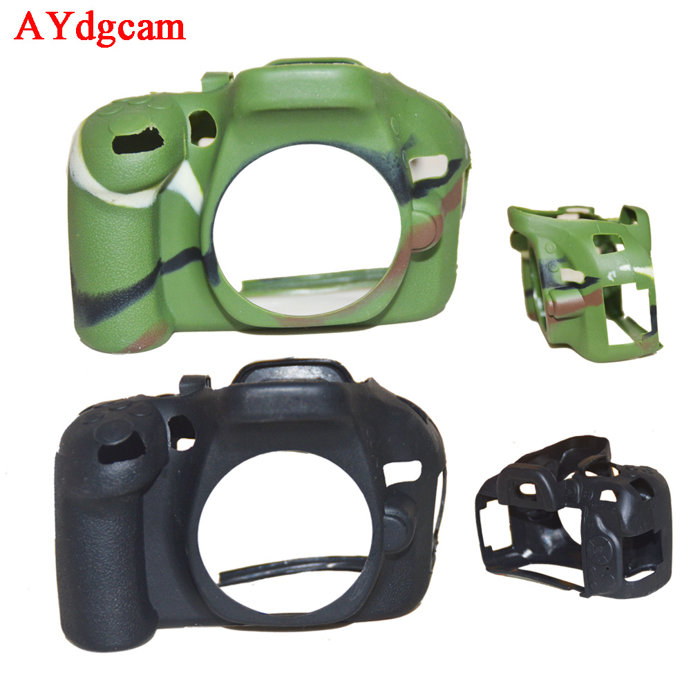Nice Soft Camera Video Bag For Nikon D5100 D5200 Silicone Case Rubber Camera case Protective Body